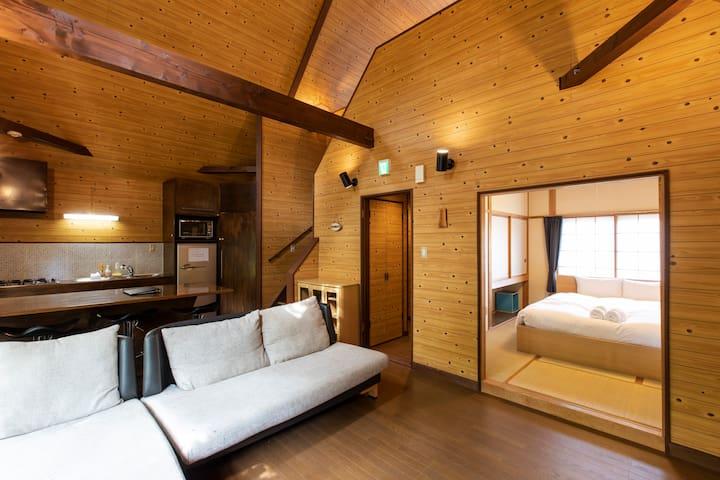 Hirafu 1Bdrm + Loft Cottage
