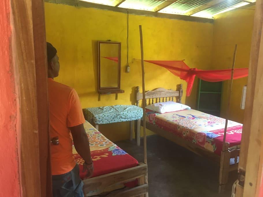 A 3 bed dorm