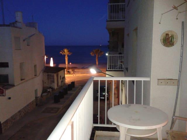 Apartamento delante del Mar - Les Cases d'Alcanar - Apartamento
