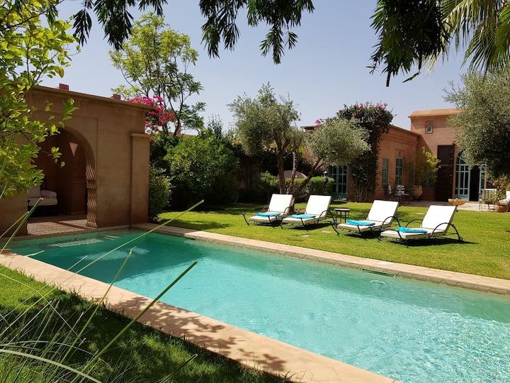 Villa privée de Luxe Jardin&Piscine sans vis à vis