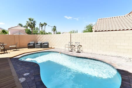 summerlin home by adelson school with pool