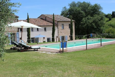 Beautiful countryhouse, Arcevia, Marche - San Ginesio