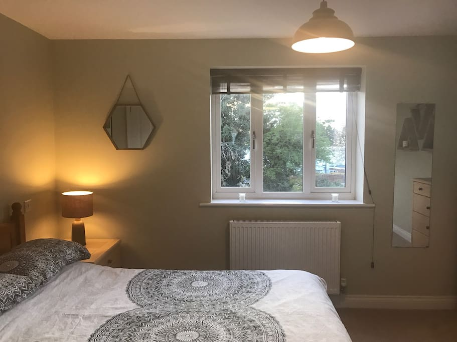 Newly decorated, large double room