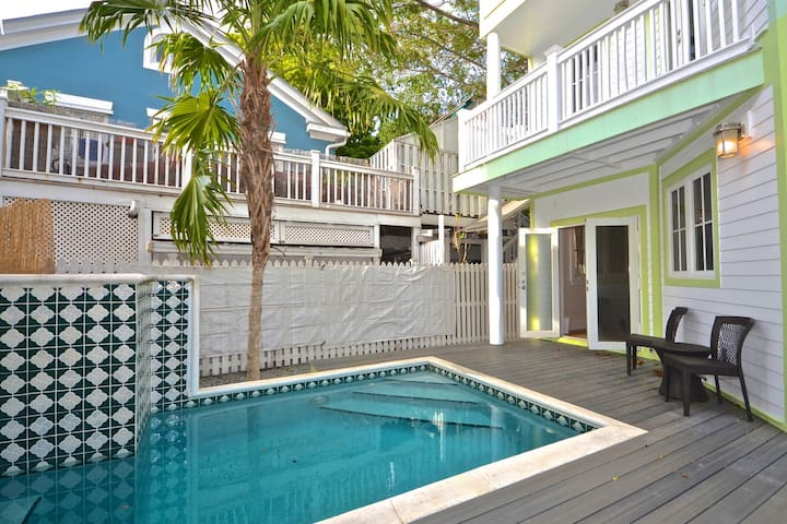 Stylish, inviting home w/private pool in heart of downtown - walk to everything!