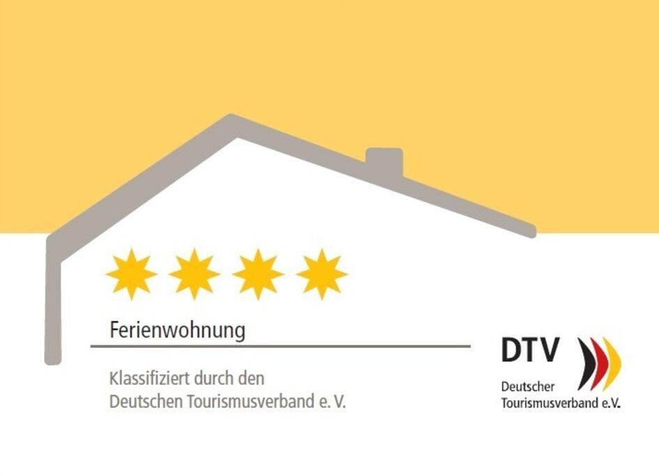 4 Sterne Klassifizierung Fritz Mackensen Wohnung