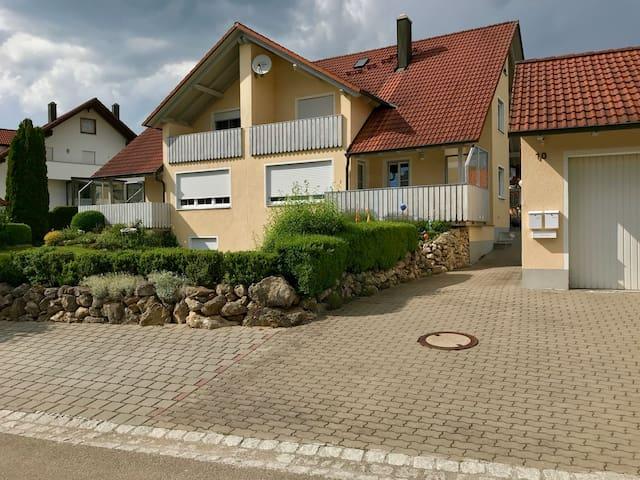 separate 35qm Wohnung im Altmühltal