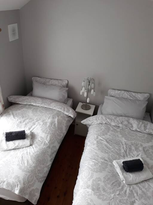 Twin room can be arrange as King bed on request