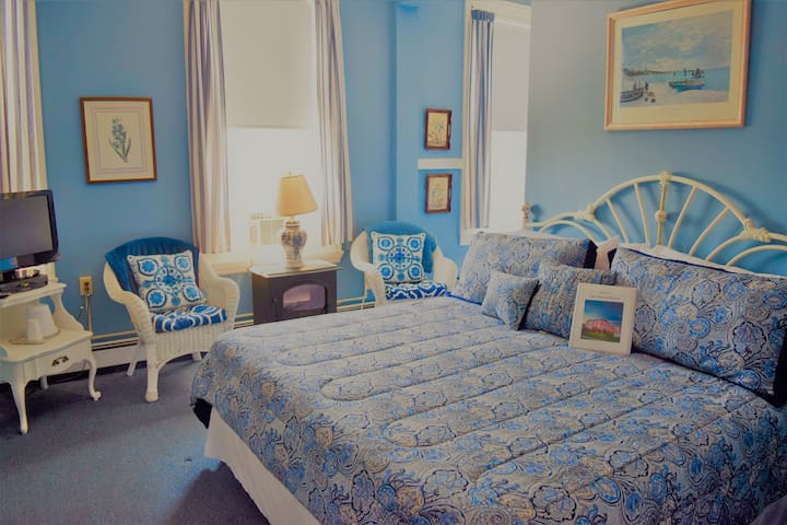 Private King Room in Beach-Side Hotel