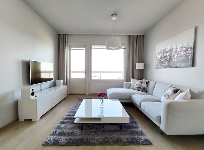 Modern 1 bedroom apt. with sauna / Top floor