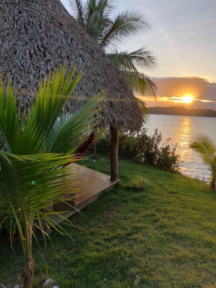 Santa Catalina-Cozy Cabaña Ocean pool & surf beach