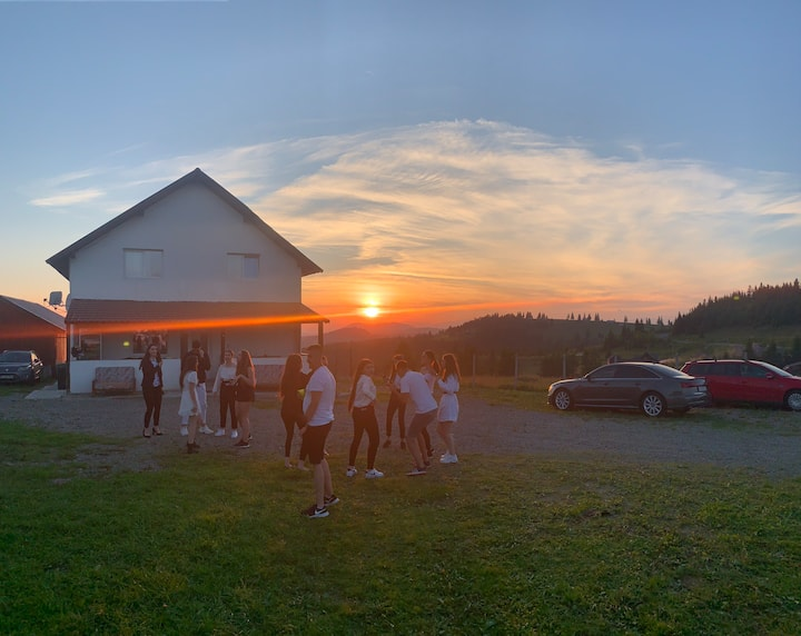 Cabana Sunset