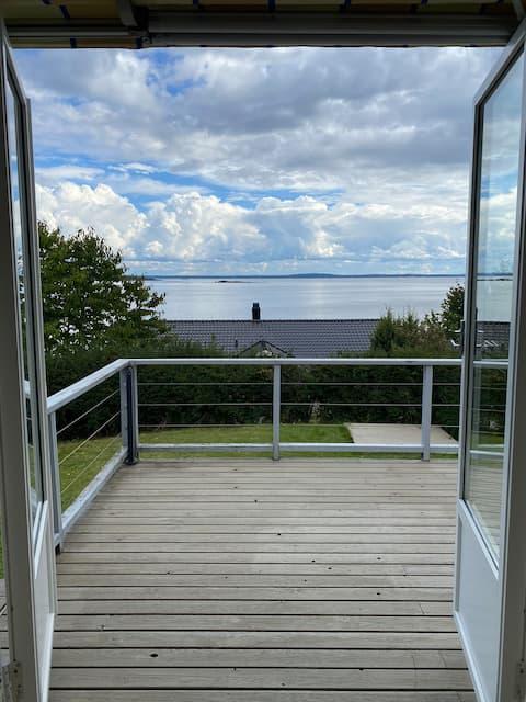 Sjarmerende hytte ved sjøen i Åsgårdstrand