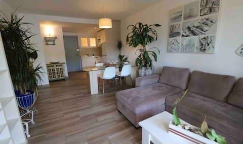 Modernes Appartement Direkt am Meer in Peguera