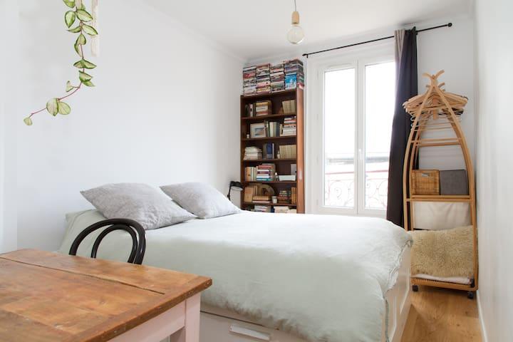 Cosy, quiet, sunny central apartment - Paris - Daire