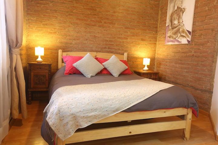 Acogedora habitación con baño privado, Valparaiso