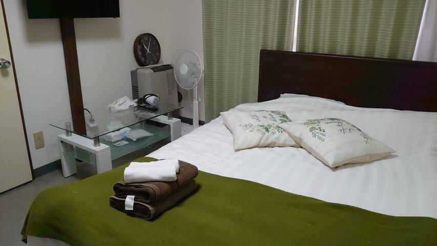 Cozy Room Near the Hokkaido Univ. Free Wi-Fi