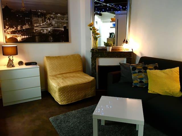 Paris Centre Studio idéal pour 2 pers