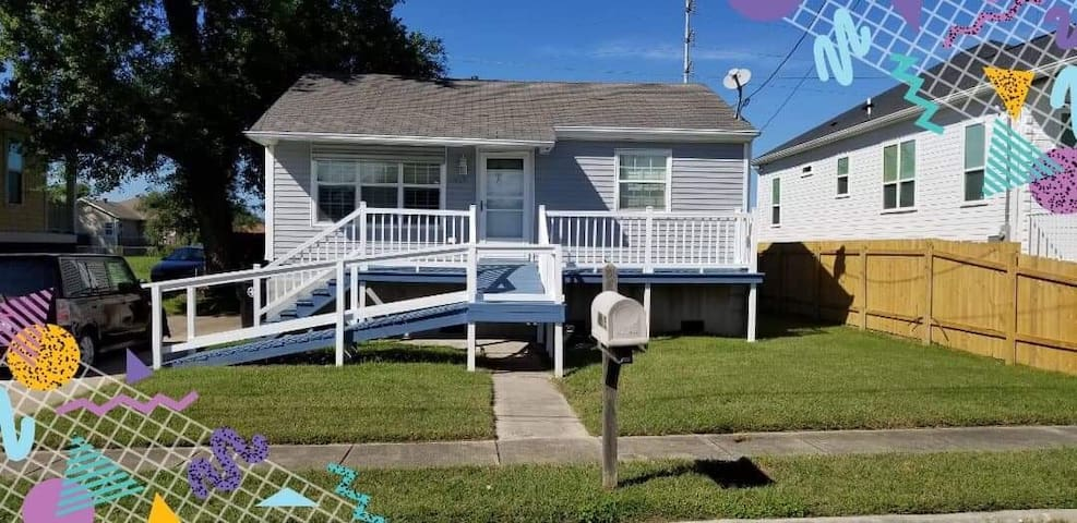Cute Home in Chilly Gentilly