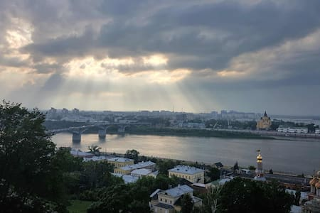 """Аpartment Oka """"Под облаками"""" - Nizhnij Novgorod - Appartement"""