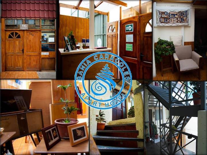 Apart Hotel Bahia Caracoles   Dpto 101