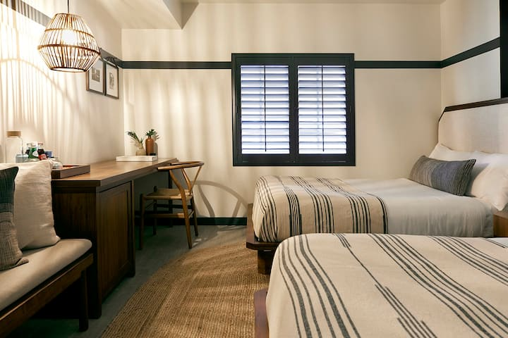 Cozy Double In Locally-Rooted Boutique Hotel