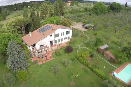 La Cipressina,appartamento con piscina nel Chianti - Greve in Chianti - Huoneisto