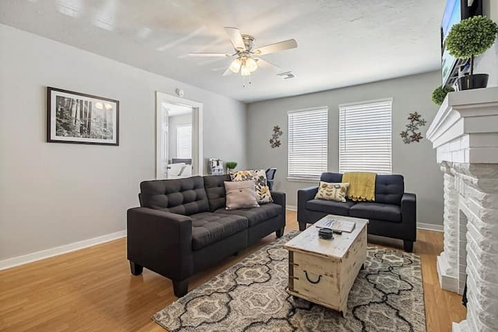 2 Bed 1 Bath close to Medical centers & Bricktown