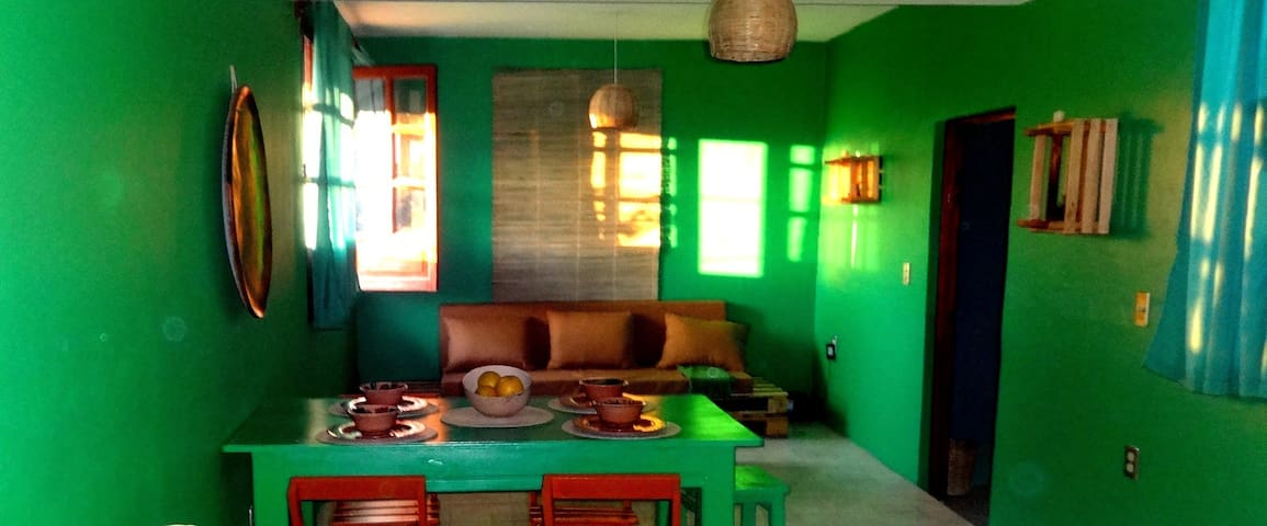 Apartment with a view, in the heart of Oaxaca - Oaxaca - Apartmen