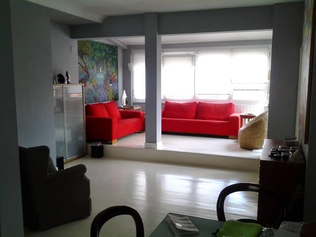 Apartamento luminoso con terraza