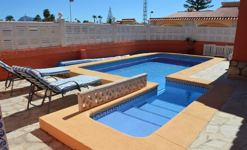 *Casa Melody* playa 200m y piscina privada+ Wifi