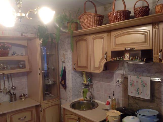 Уютная квартира в курортной зоне - Терскол - Apartament