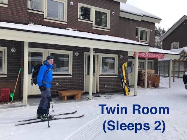Alpine Backcountry Lodge Tomamu (Twin Room A)