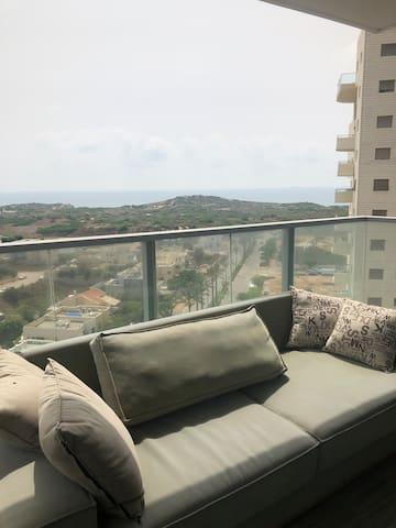 Gorgeous beach view luxury big apartment!!