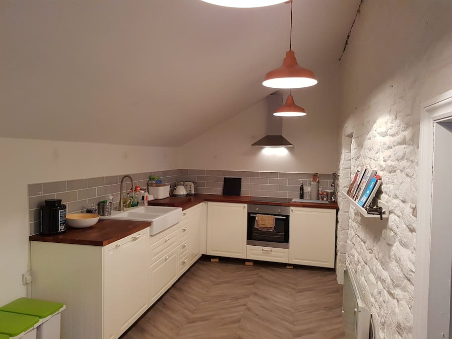 Larger than average kitchen - newly fitted