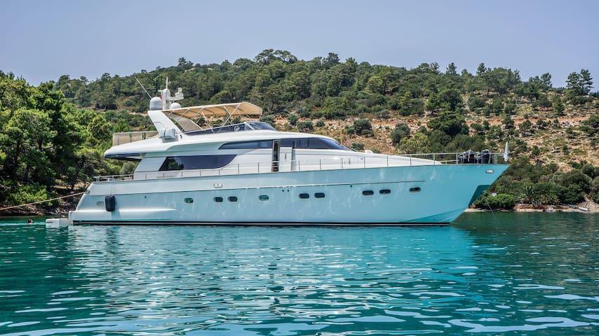 Luxury Yatch Carter in Aegean Sea - Bodrum - Boot