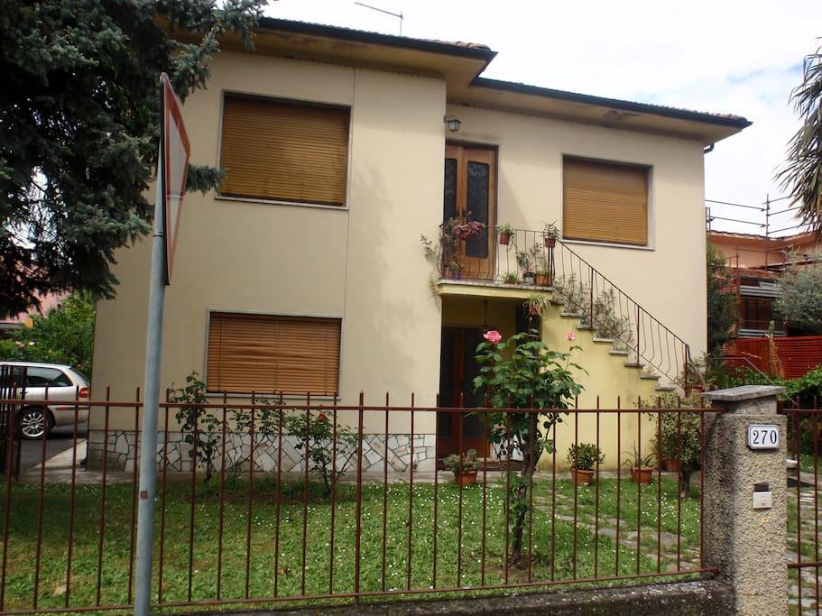 casa fronte principale