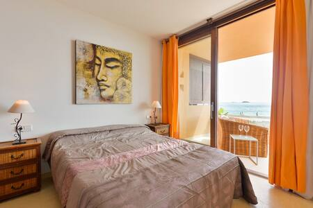 nice Sea-view in Bossa - 2 bed room - Sant Josep de sa Talaia - Leilighet
