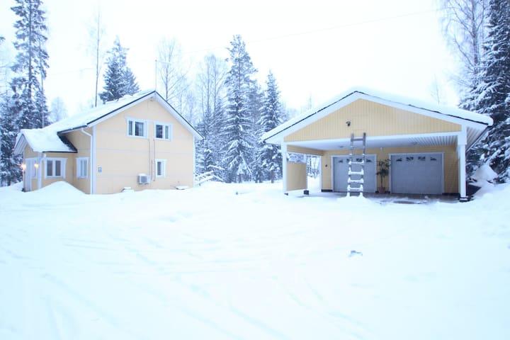 Detached house in Äänekoski, Juustotie 8 (ID 7665)