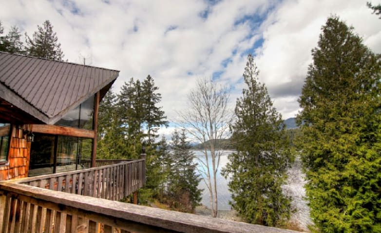 Stunning Sea View Cabin with BBQ - Powell River - Chalet
