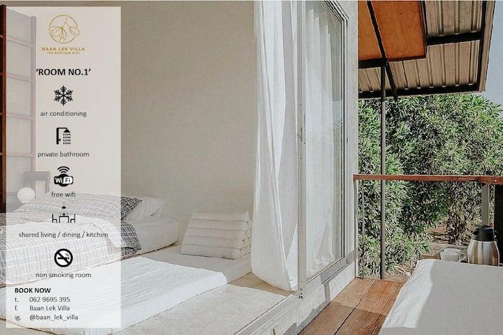 Baan Lek Villa Room no.1