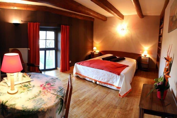 suite familiale Sainte Genevieve - Sainte-Genevieve - Гостевой дом