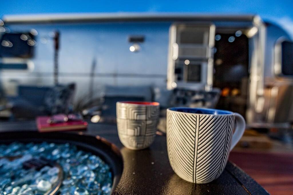 Coffee at sunrise Mmmm