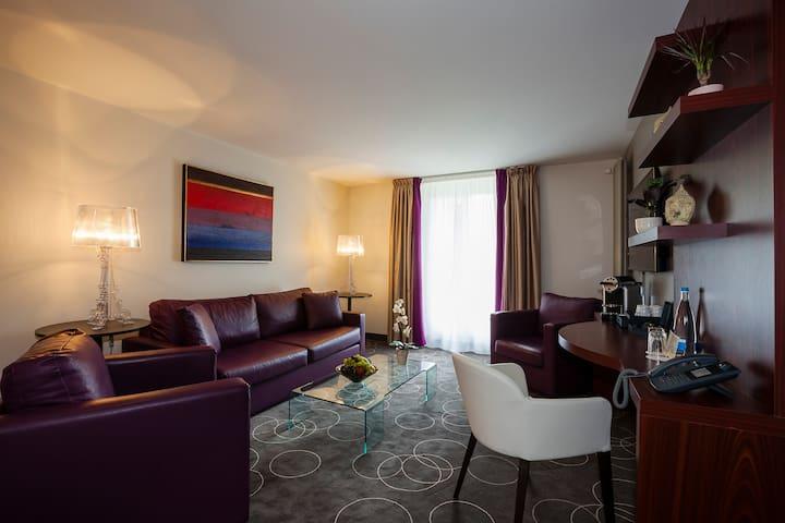 La Suite des Bains - Lavey-Morcles - Boutique hotel