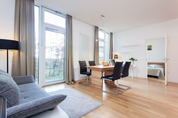 Garden apartment in Prenzlauer Berg