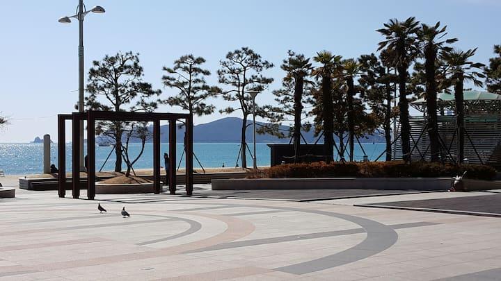 3 min.Beach Hoteltype Twin/달맞이고개5분/LCT View