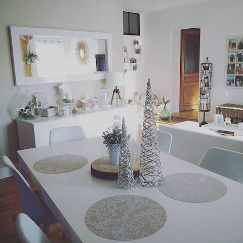 Chez Camille et Damien - Saint-Just-Saint-Rambert - Lägenhet