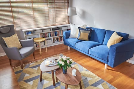 Bright 1BR by the bay in the heart of Elwood - Elwood - Huoneisto