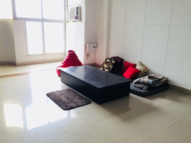 Comfy Cushy Small Apartment In Gurgaon