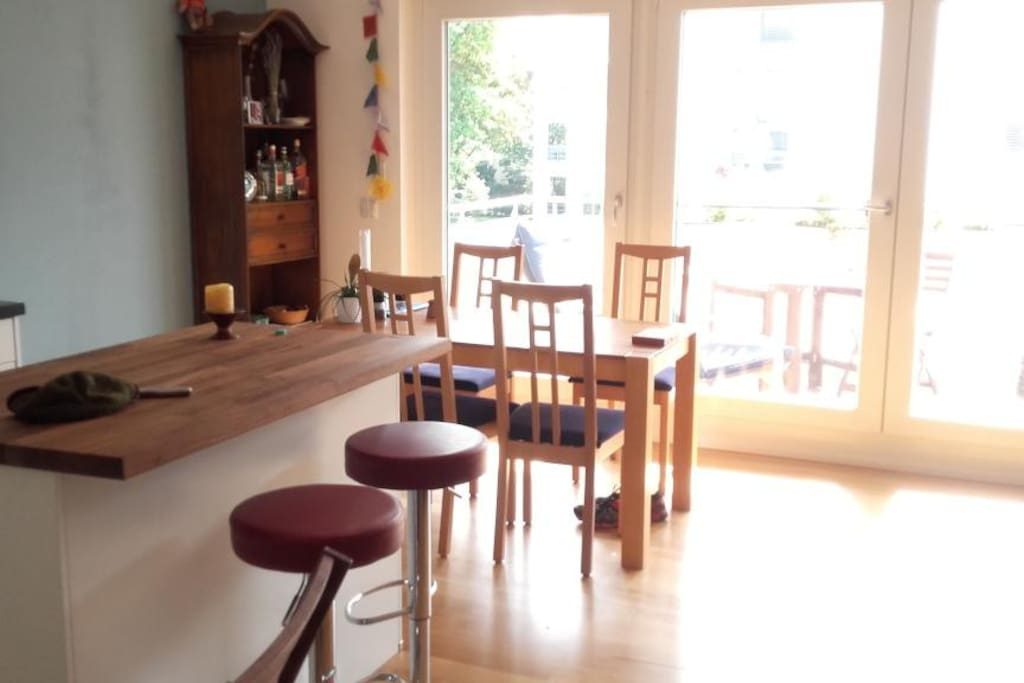 Bar and dining table