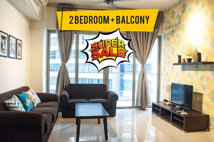 _POPULAR_ Cozy 2BR Balcony Suite@ Regalia KL